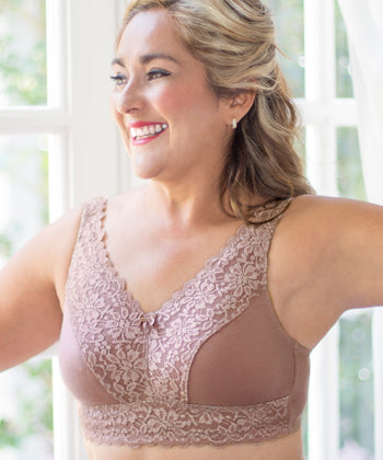 ABC® Embrace Bra - Soft Mocha