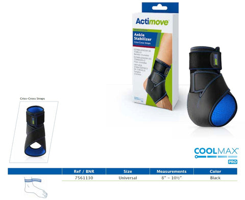 Actimove® Ankle Stabilizer - Criss-Cross Straps