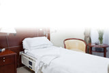EssentialÎ Hospital Bedding Set with Jersey Knit Fitted Sheet