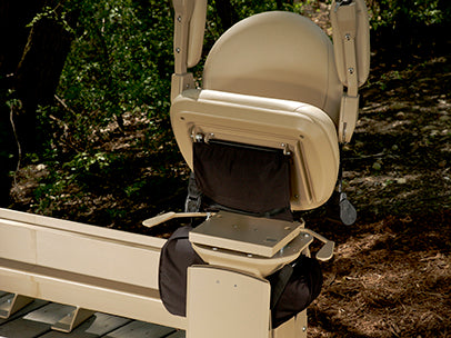 Elite Outdoor Curved Stairlift
