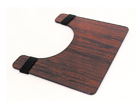 Essential® Wheelchair Tray in Rosewood