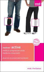 MEDI ACTIVE KNEE HIGH 15-20