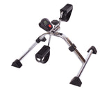 EssentialΠFolding Pedal Exerciser with and without Meter