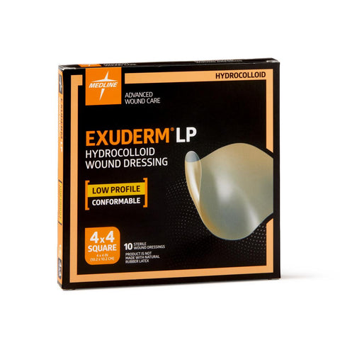 Medline Exuderm® LP Hydrocolloid Wound Dressing