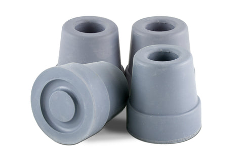 Essential® Rubber Quad Replacement Cane Tips