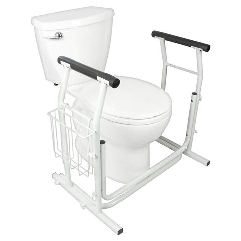 Essential® Free Standing Toilet Safety Rails