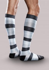 Therafirm® 20-30mmHg* Core-Spun Patterned Support Socks