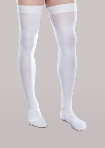 Therafirm® 20-30mmHg* Core-Spun Support Thigh High Socks