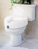 Medline Locking Raised Toilet Seat