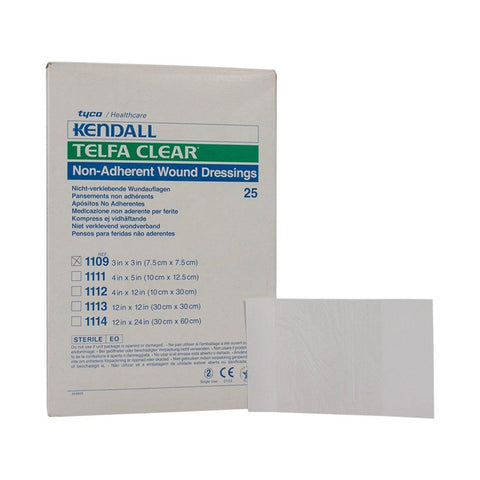 Tyco Healthcare Kendall Telfa Clear Non-Adherent Wound Dressings