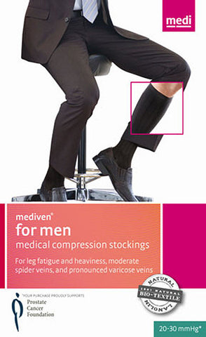 MEDI FOR MEN CLASSIC KNEE HIGH 20-30