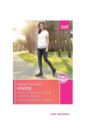 MEDI VITALITY KNEE HIGH 30-40