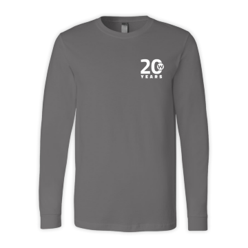 20th Anniversary Long Sleeve T-Shirt