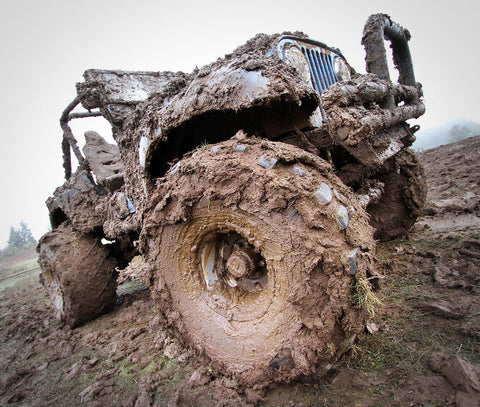 Mudding with a Jeep
