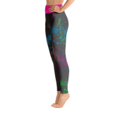 "Onakwest ""Graffiti"" (Dark) - Yoga Leggings"