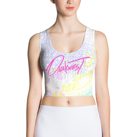 "Onakwest ""Geometry"" - Crop Top"