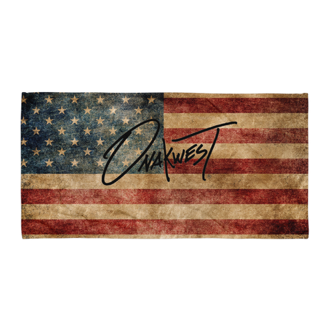 Onakwest Old Glory Towel