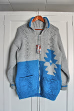 'Turquoise Navajo' 1980's/90's Mary Maxim Sweater- Extra Large
