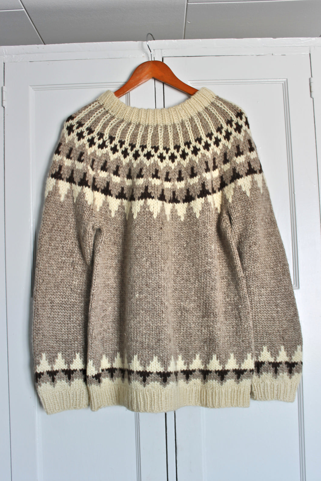 Vintage 1970's Cowichan Sweater