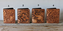 Men's Carved Wallets