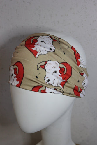 Norman the Adore-a-Bull Hereford™ Headband