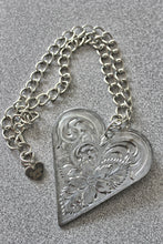 Engraved Metal Necklaces
