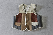 Kids 'Rough Stock' Leather Vest