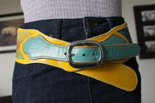 """Choose to live in a world with bright, bold colour"" Belt- Extra Large"