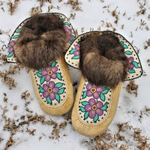 1960's Métis Embroidered Moccasins