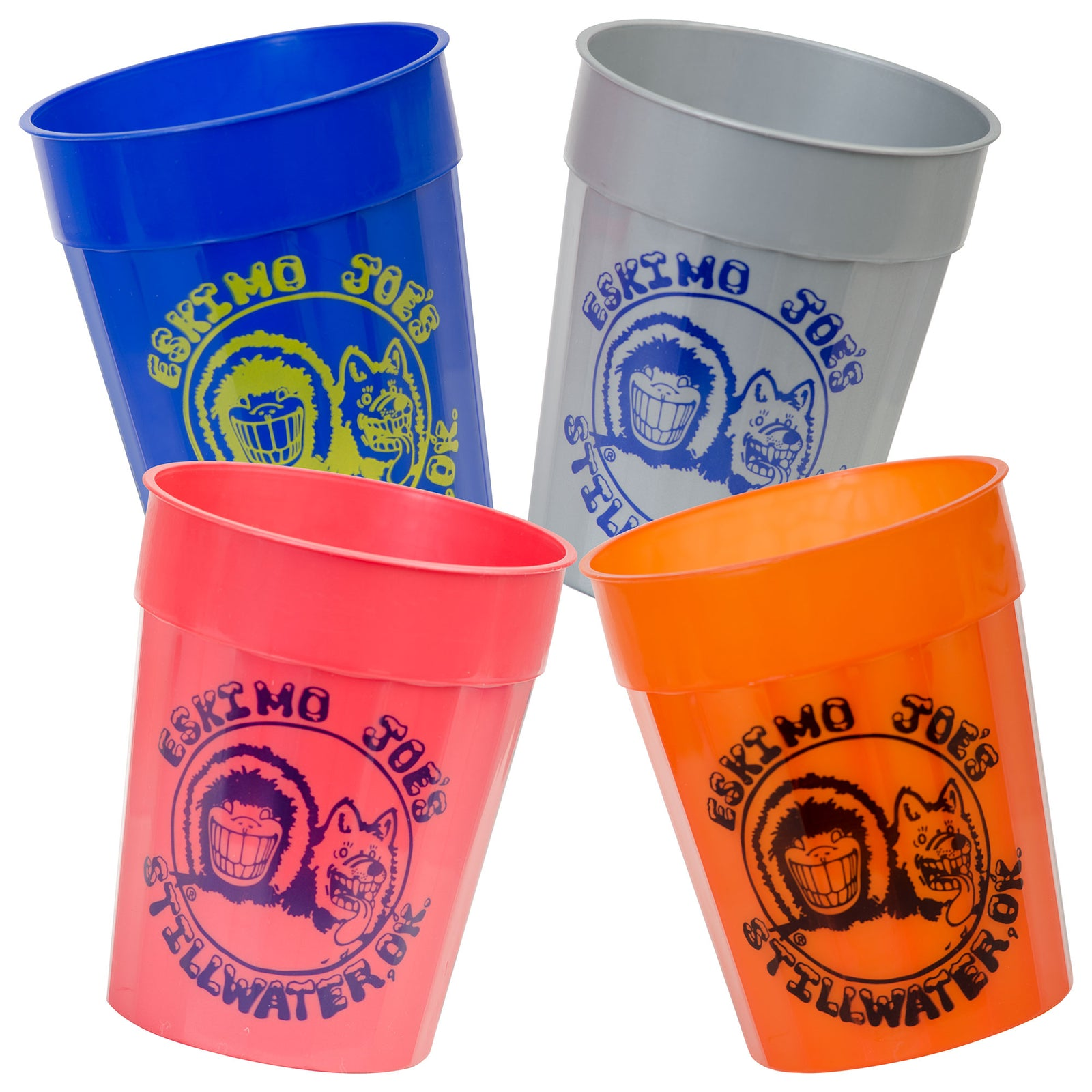SET OF 4 ASSORTED CUPS - CUP4