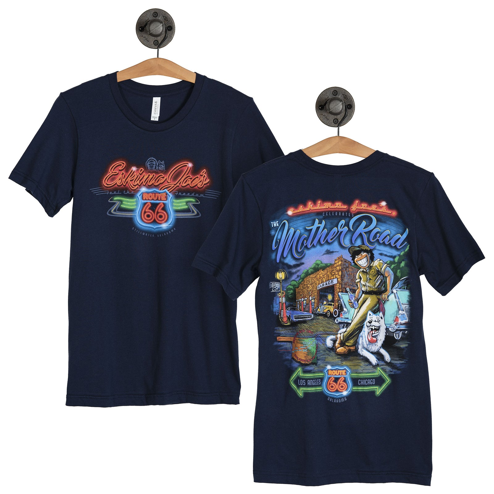 YOUTH ROUTE 66 TEE - YJR66T