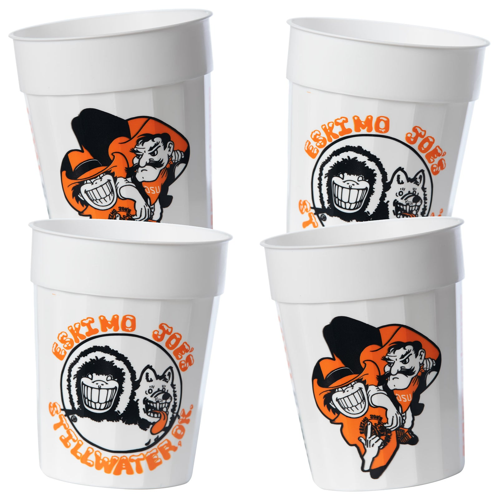 OSU/JOE CUPS SET OF 4 - OSUCUP4