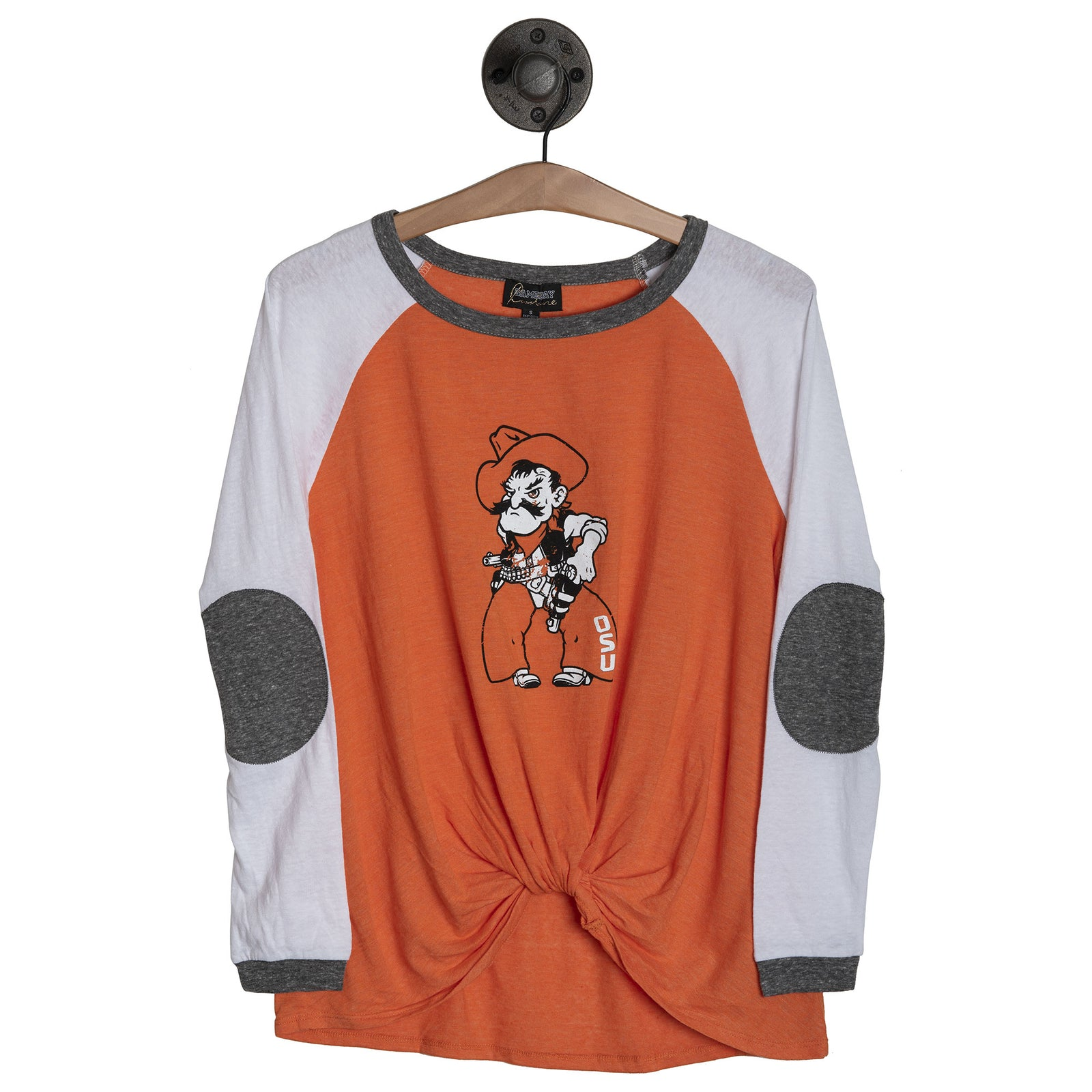 OSU ELBOW PATCH TUNIC - OSUEPT