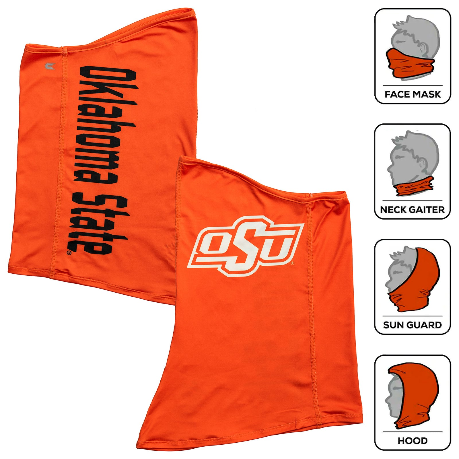 OSU SOLID COLOR NECK GAITER - OSUSCNG