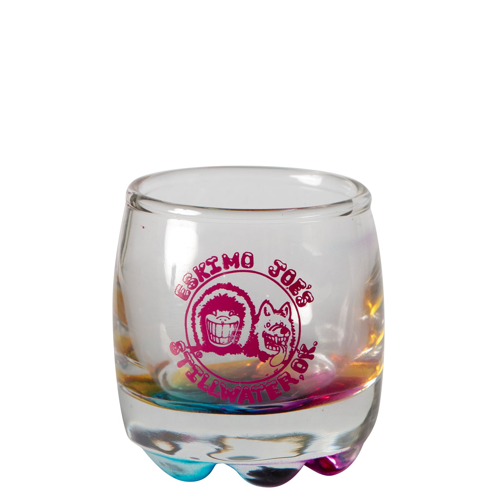 RAINBOW BOTTOM SHOTGLASS - RSG