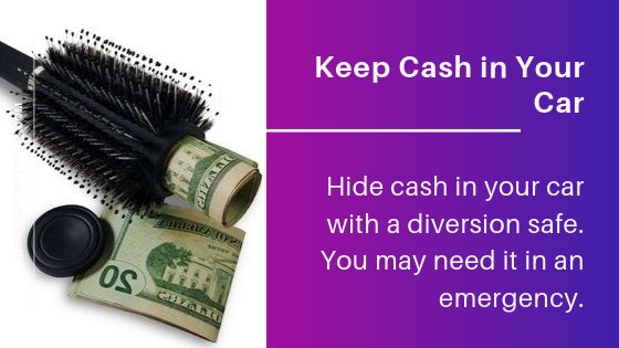 Decisive Items Vital to Auto Safety kit hide cash in diversion safe