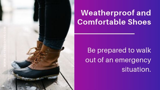 Decisive Items Vital to Auto Safety kit weatherproof footwear