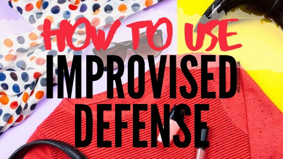 how to use improvised self defense with clothing