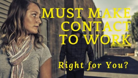 pros and cons of stun gun must make contact to work