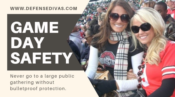 GAME DAY SAFETY tips active shooter safety bulletproof protection