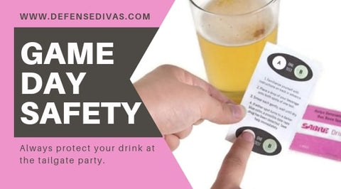 GAME DAY SAFETY tips for college life drink safety