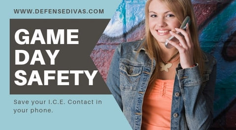 GAME DAY SAFETY tips for college life personal safety emergency contact