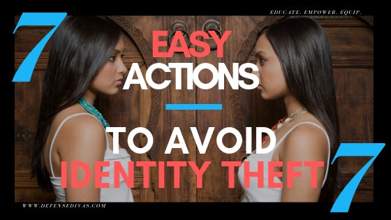 defense divas Identity Theft Prevention Tips Internet security credit card fraud prevention