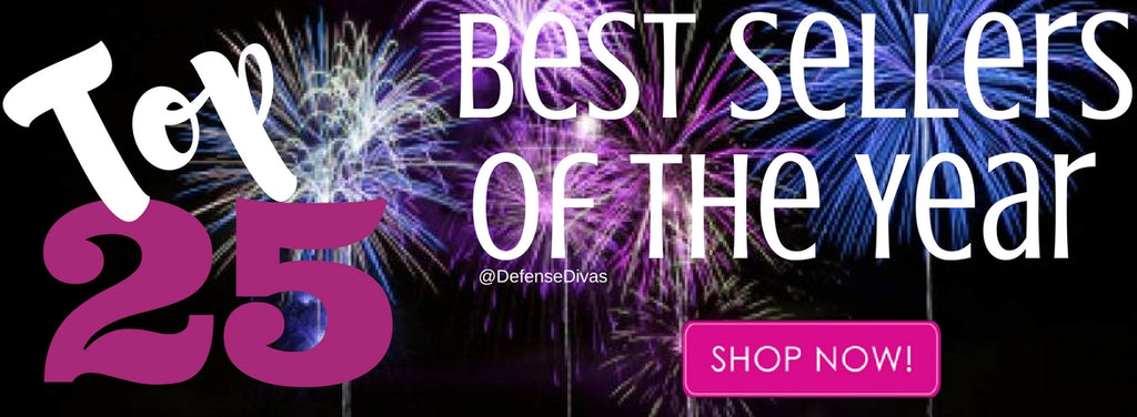 defense divas Top 25 best selling self defense products of the year category banner