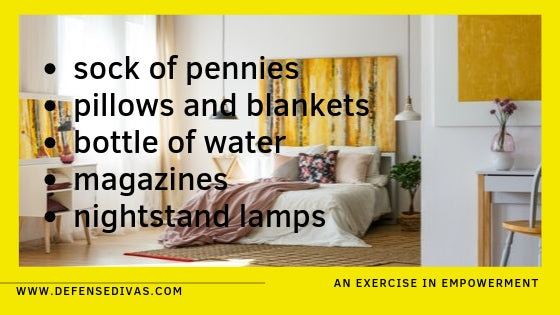 bedroom household items you can you to defend yourself defense divas personal safety education