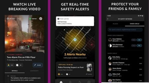 best safety apps 2019 citizen app for community crime and emergency alerts
