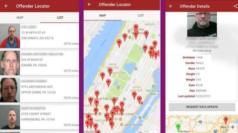 best safety apps 2019 offender locator lite app for community crime and emergency alerts