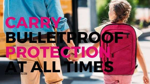 bulletproof protection active shooter safety tips pink