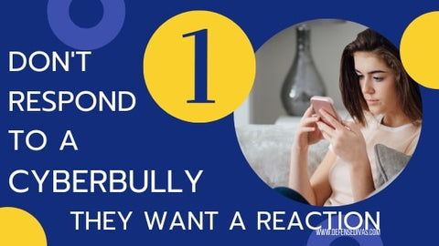 cyberbullying safety rules list 1