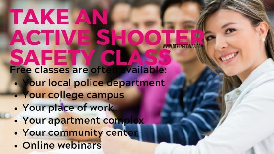 defense divas active shooter safety classes pink